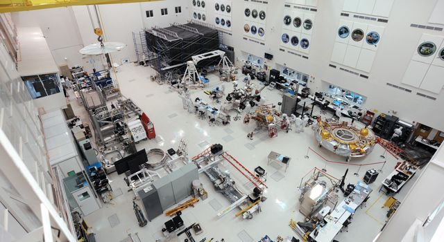 High Bay 1 in JPL