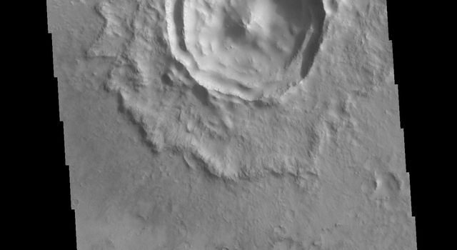 Terraced Wall Crater