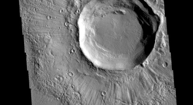 Grooved Crater