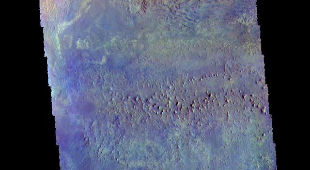 Arabia Terra Crater - False Color