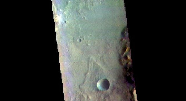 Harris Crater - False Color
