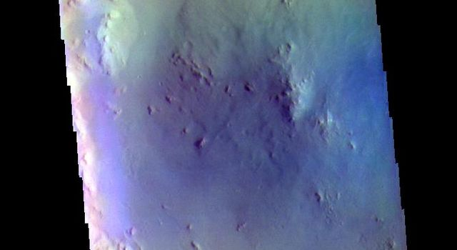 Bombala Crater - False Color