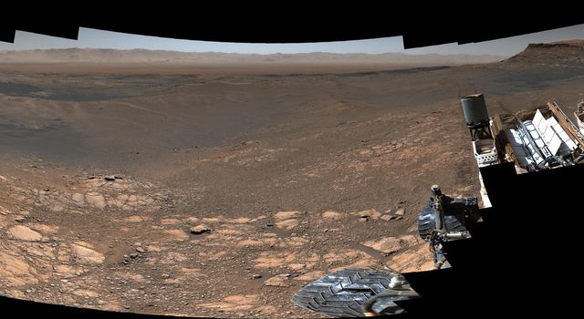 NASAs Curiosity rover captured its highest-resolution panorama of the Martian surface between Nov. 24 and Dec. 1, 2019.