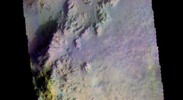 Hale Crater - False Color