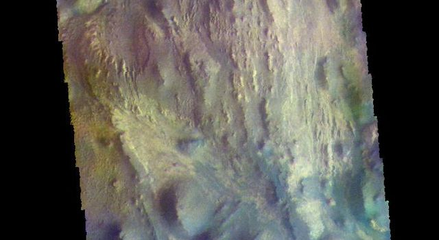 Juventae Chasma - False Color