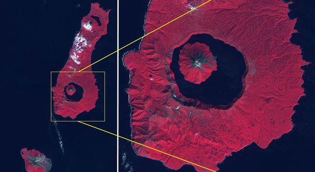 Tao-Rusyr Volcano, Kuril Islands