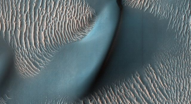 HiRISE Finds a Dune and Ripples