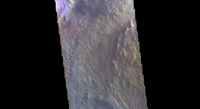 Candor Chasma - False Color