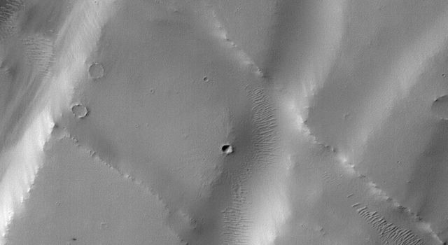 Machine Learning Spots a Cluster of Mars Craters: Context Camera