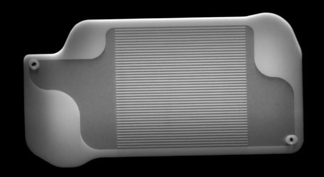 X-ray Image of 3D-Printed MOXIE Part