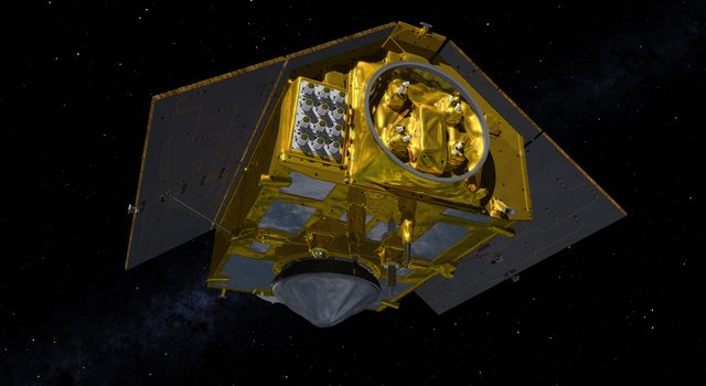 The Rear of the Sentinel-6 Michael Freilich Satellite (Illustration)